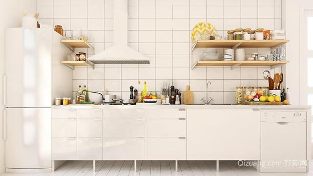 厨房怎么装修能够保持干净清爽