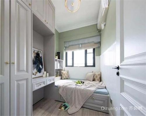 小户型三室两厅装修效果图
