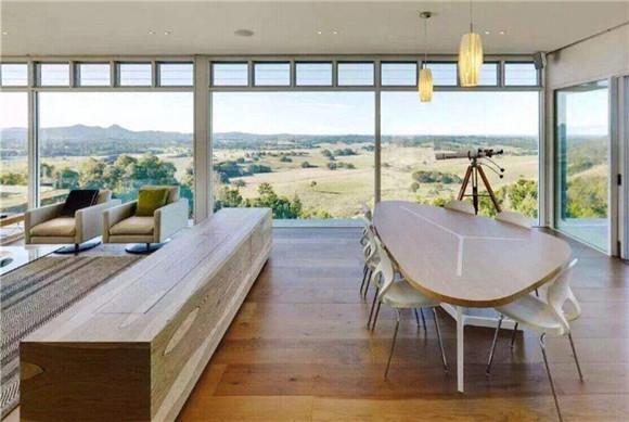 封阳台双层玻璃窗户