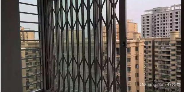 传统推拉防盗窗