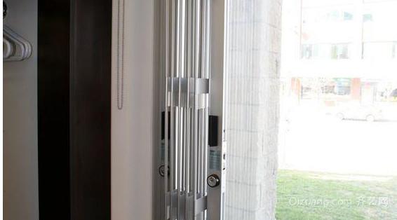 新型室内推拉防盗窗