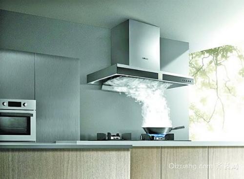 厨房装修抽油烟机的烟道