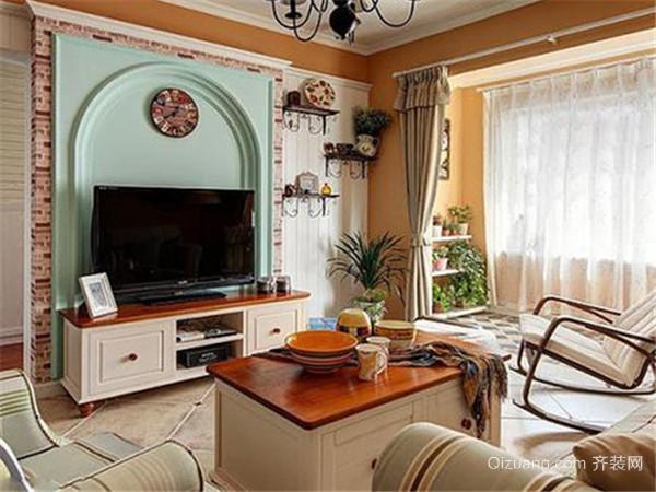 电视背景墙客厅如何装修