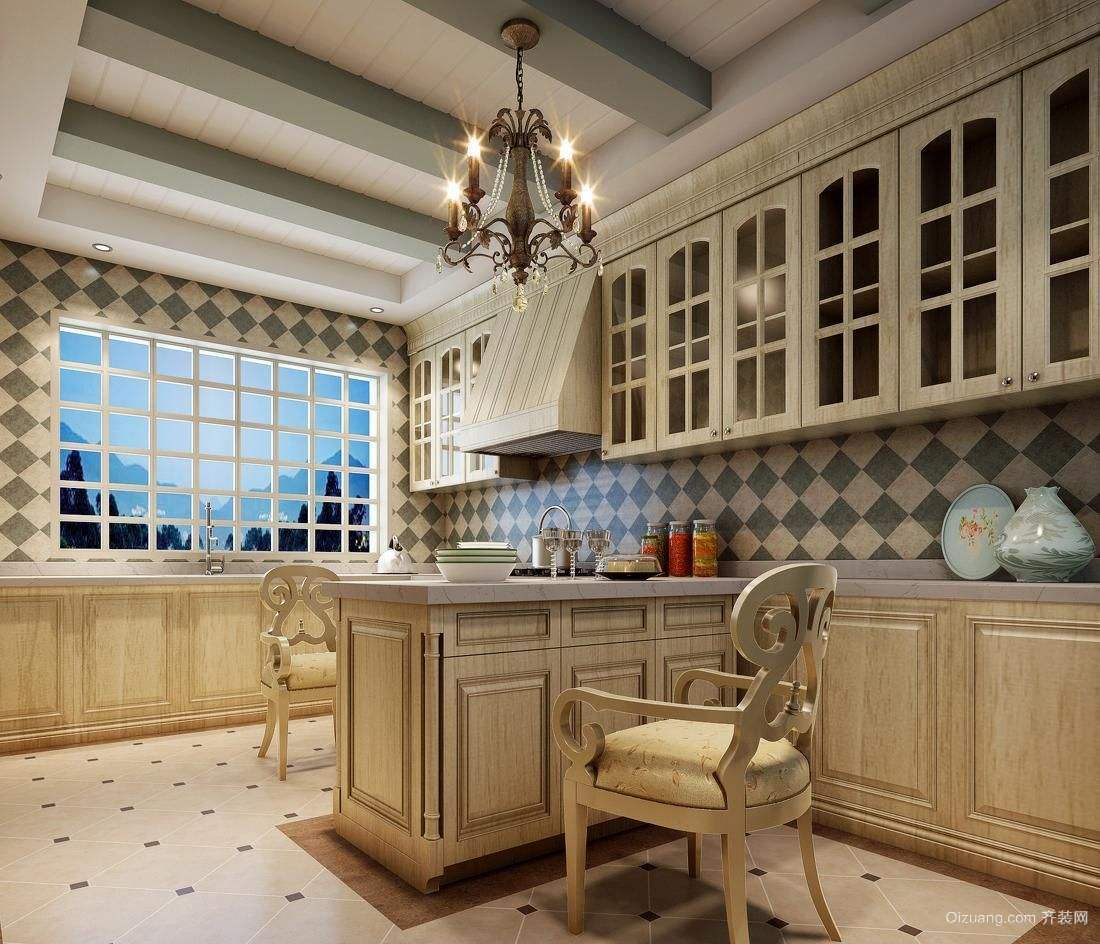 90平米厨房装修预算