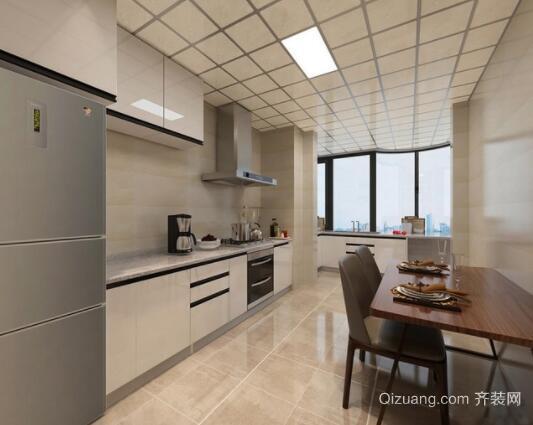 120平米现代简约风格厨房装修