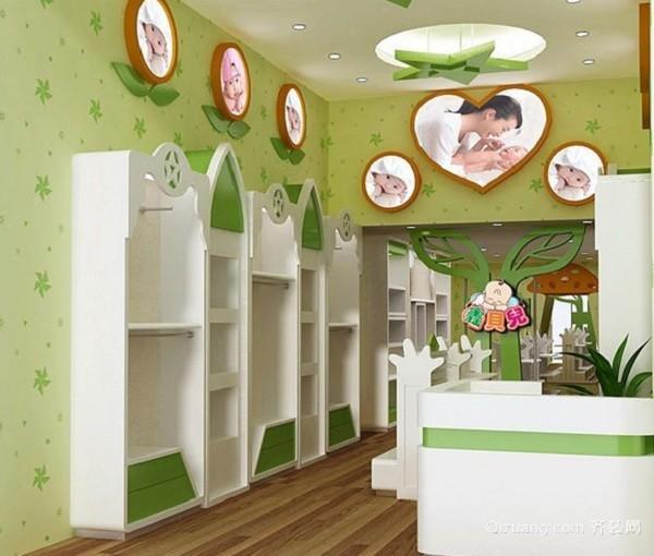 天津塘沽孕婴店装修案例