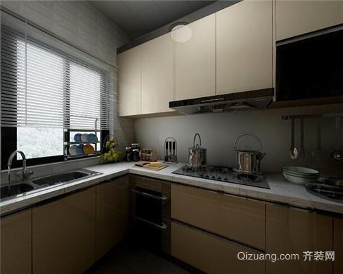 北欧风厨房装修效果图