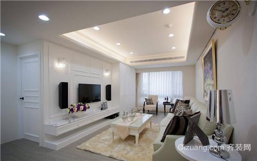 宿州拂晓新城100平米房子装修设计空间