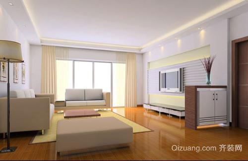 宿州拂晓新城100平米房子装修卧室空间设计