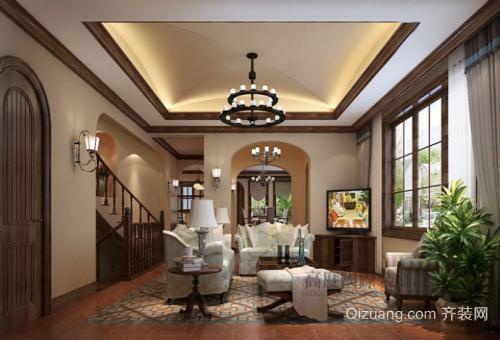 苍南别墅装修客厅颜色搭配设计