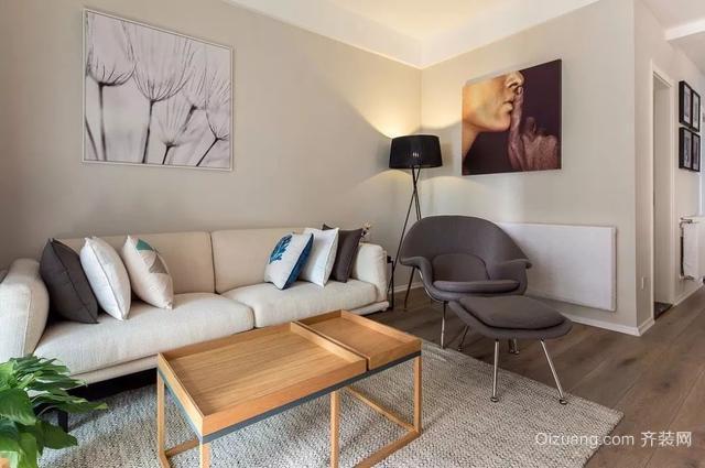 现代简约客厅装修效果图
