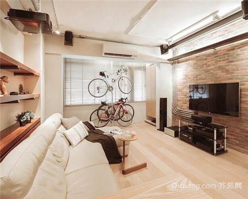 工业风二居室客厅装修