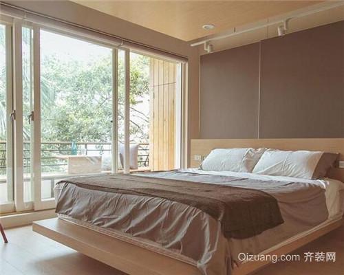 工业风二居室卧室装修