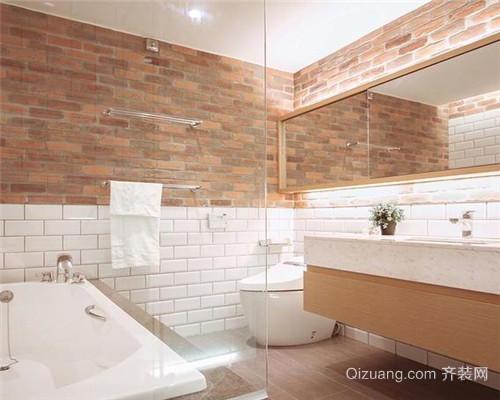 工业风二居室卫生间装修