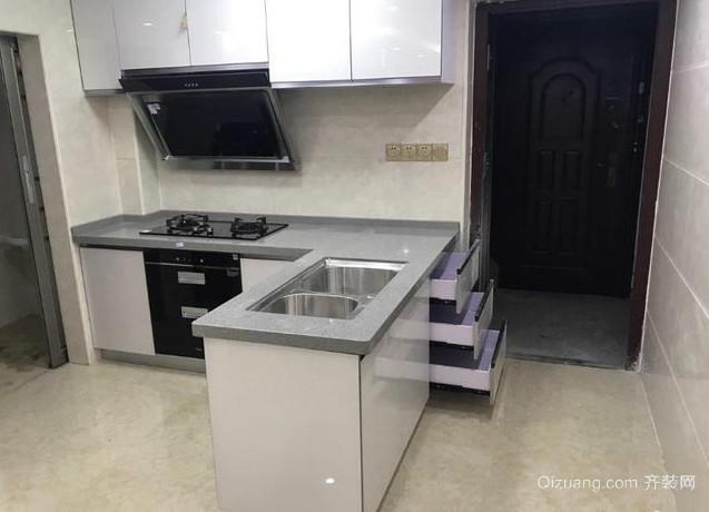 小复式厨房装修设计