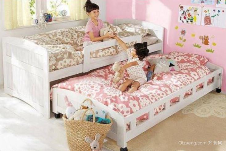儿童房收缩床