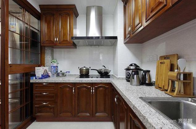 中式风格厨房装修案例