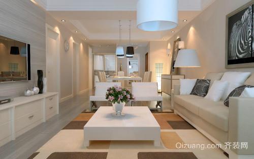 长兴公寓装修设计家具布置