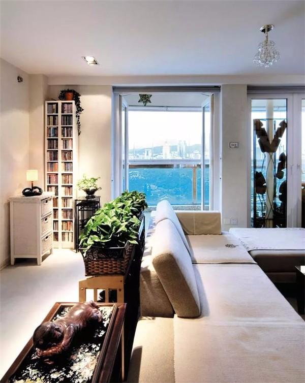 别墅客厅一角装修设计