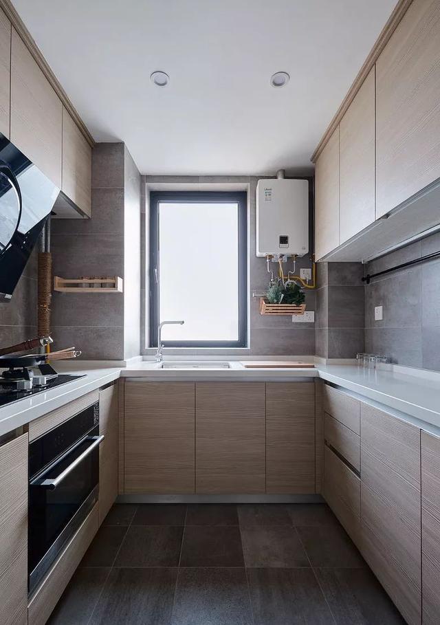北欧风厨房装修设计案例