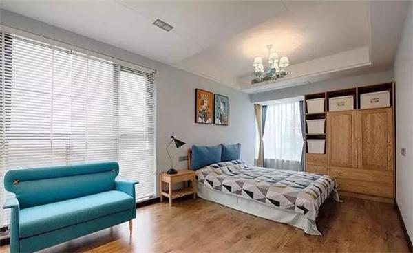 样板房次卧装修效果图