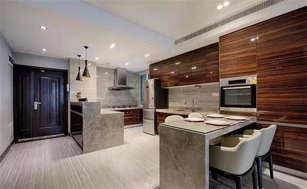 样板房餐厨区装修效果图