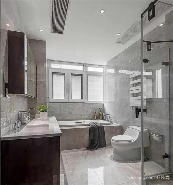 别墅卫生间装修设计图