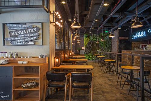 兴化咖啡厅装修设计要点之个性新颖