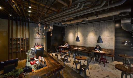 兴化咖啡厅装修设计要点之高端典雅