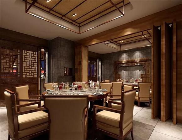 中式餐厅包厢设计
