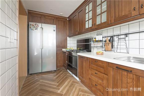 107平米厨房装修设计
