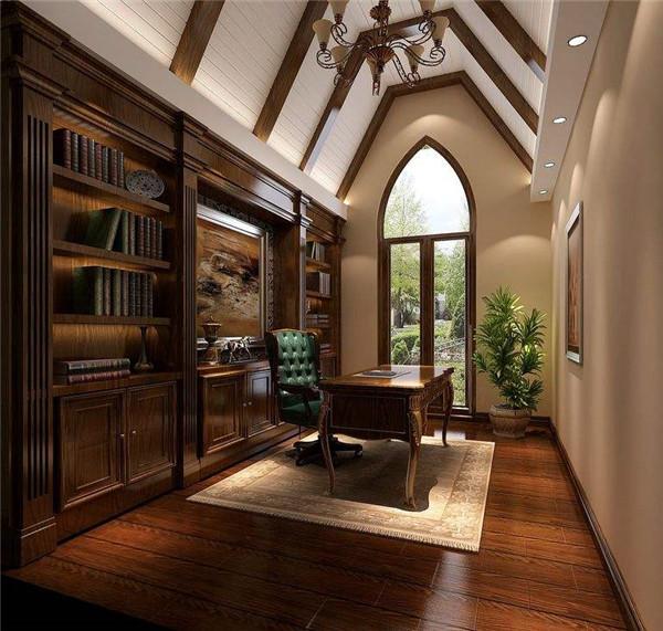 东南亚风格书房装修