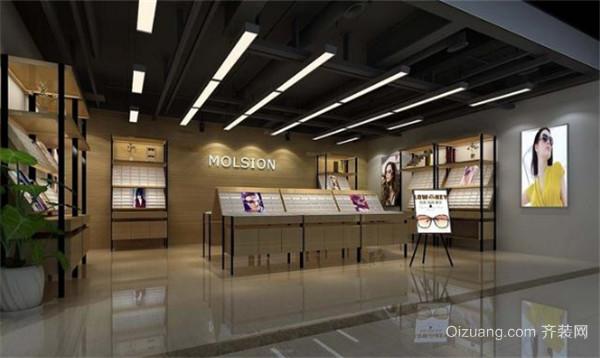 杭州眼镜店装修效果图