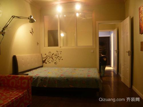 建湖一室装修要点之卧室