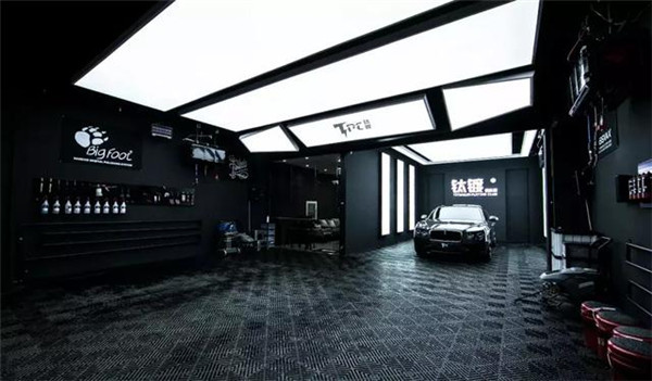 杭州汽车美容店装修效果图