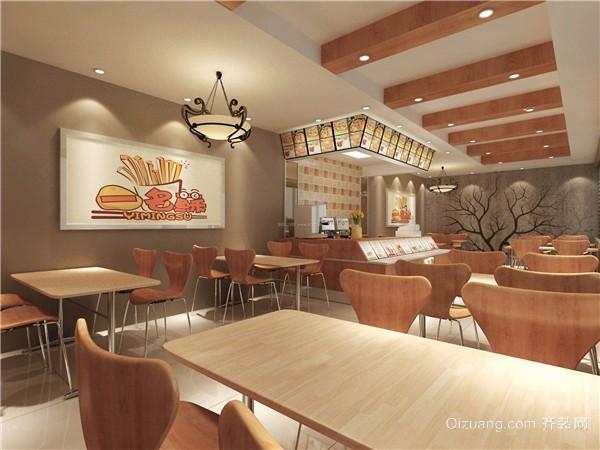 餐饮店面灯光设计