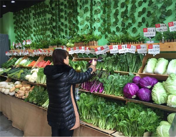 杭州生鲜超市装修效果图