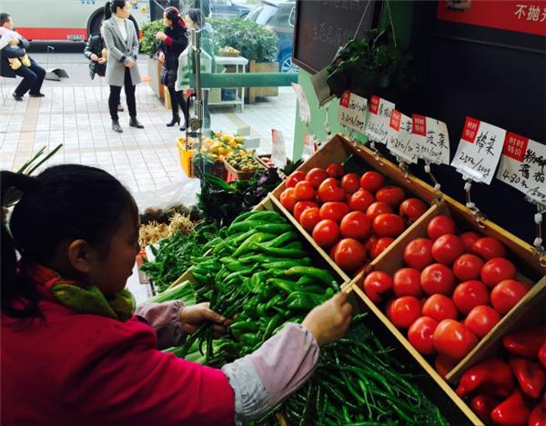 杭州生鲜超市装修设计