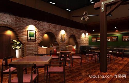 长兴酒吧装修吧台设计