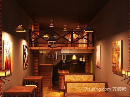 长兴酒吧装修餐桌区设计