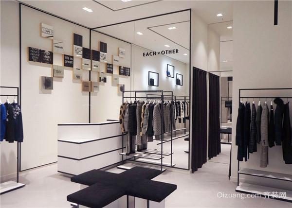 芜湖服装店装修案例图