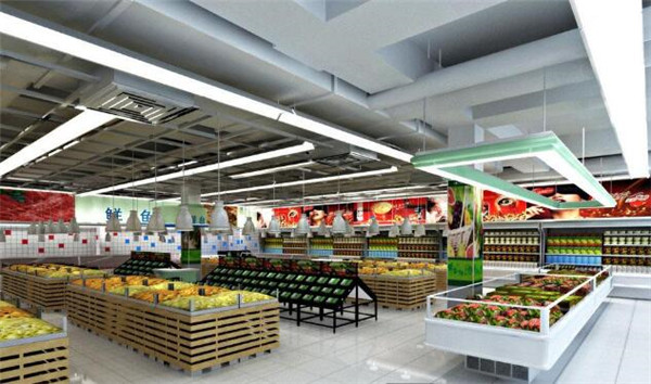 芜湖超市装修案例