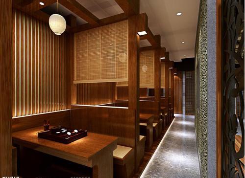 威海茶楼装修宫幻式设计