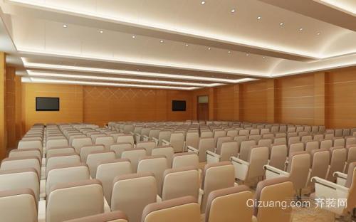姜堰会议室装修设计个性创意风格