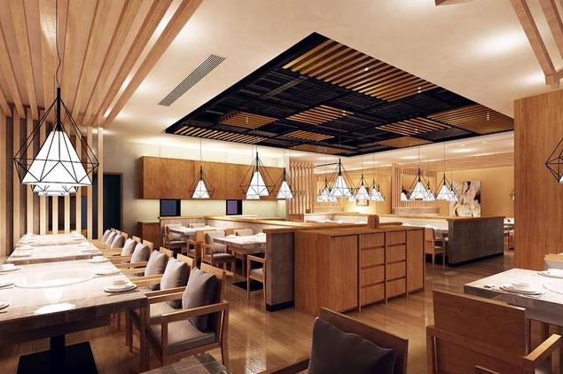韩式酒楼装修风格效果图