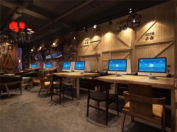 芜湖网吧装修设计案例
