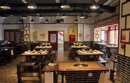 威海火锅店装修设计大众风格