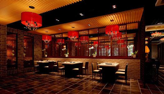 威海火锅店装修设计特色风味型风格
