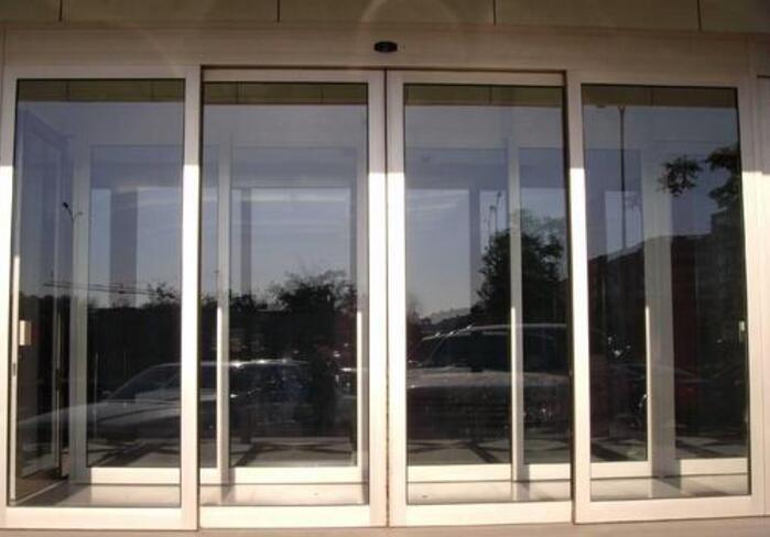 玻璃门地弹簧装置