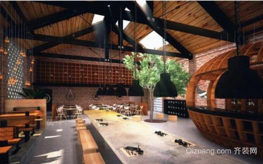 南平咖啡厅装修设计风格效果图